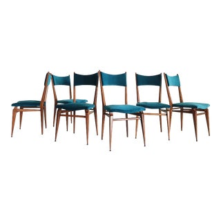 French Modern Dining Chairs - Set of 6