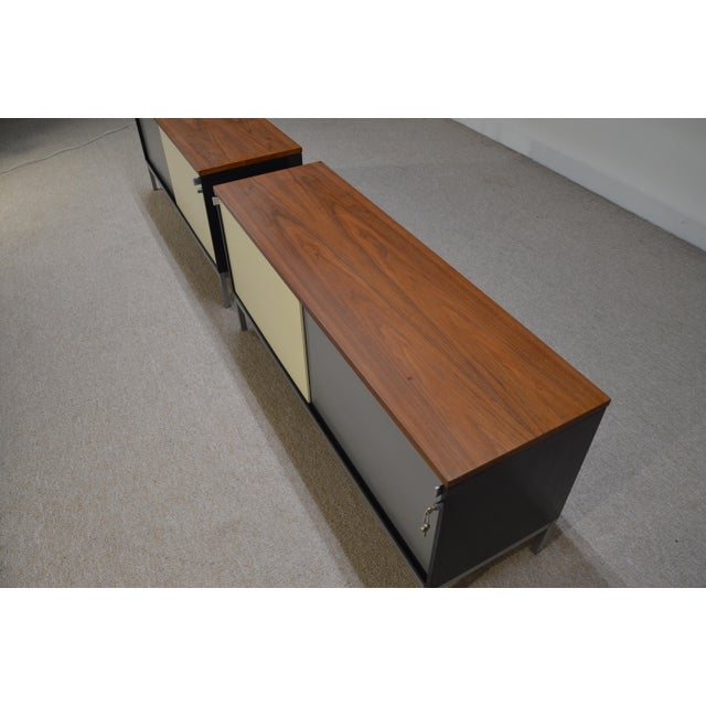 Art Metal for Knoll Int. Mid-Century Office Cabinets - A Pair - Image 4 of 10