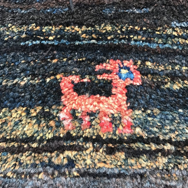 "Vintage Persian Gabe Area Rug- 6'5"" x 4'7"" - Image 8 of 11"