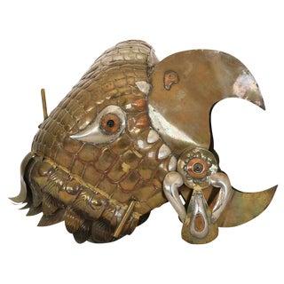 Sergio Bustamante Decorative Helmet of Eagle