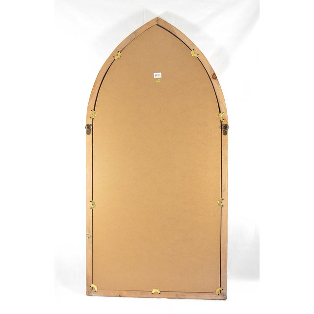 Image of Gothic Cathedral Style Arched Wall Mirror