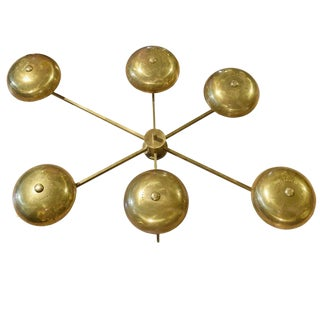 Italian Chandelier in the style of Arredoluce