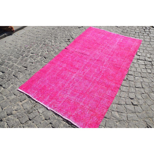 Turkish Floor Rug- 3′10″ × 6′11″ - Image 4 of 6