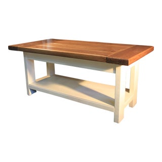 Farm Style Custom Coffee Table