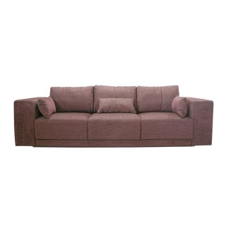 Bell'Arte Modern Brazilian Brown Sofa