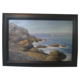 Early 20th Century Impressionist Oil Painting