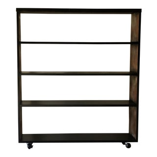 Industrial Style Distressed Bookshelf