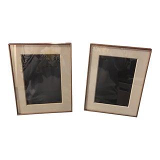 West Elm Picture Frames - Pair