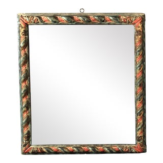 17th Century Italian Polychrome Frame