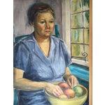 Image of Vintage Portrait Painting