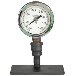 Vintage Weston Thermometer On Stand