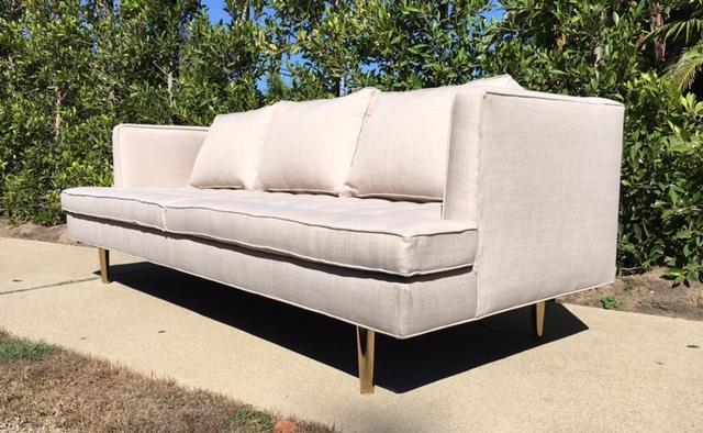 Mid Century Style Custom Sofa Chairish