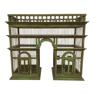 Large Arc De Triomphe Bird Cage Aviary