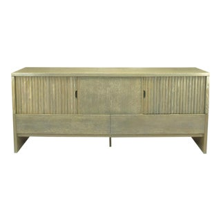 Harold Schwartz for Romweber Cerused Driftwood Oak Sideboard