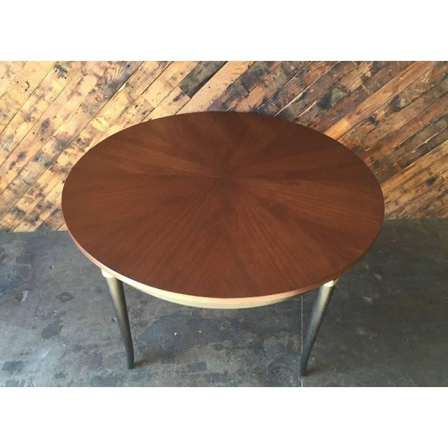 Mid-Century Regency Dining Table - Image 4 of 5