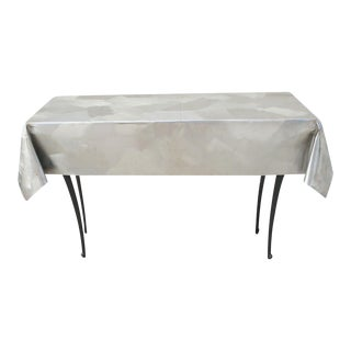 Modernist Metal Console Table