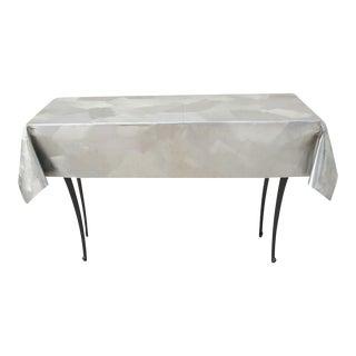 Savannah Black Metal Console Table