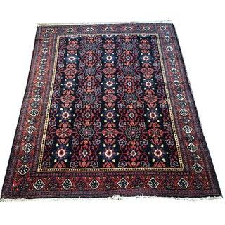 Vintage Persian Seneh Rug - 3′ × 5′