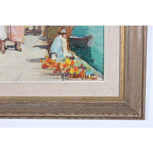 "Knut Norrman ""Venice Impressionist"" Oil Painting - Image 3 of 3"