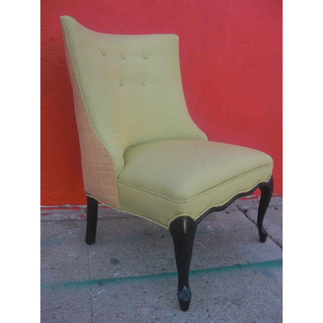 Unique Upholstered Chairs: 1960's Custom Upholstered Chair