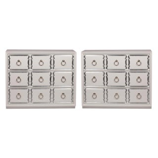 Dorothy Draper Espana Bunching Chests - A Pair