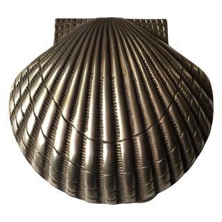 Coastal Living Brass Shell Door Knocker