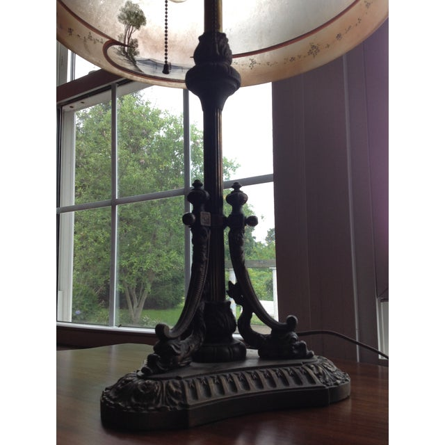 Obverse Painted Table Lamp - Image 4 of 8