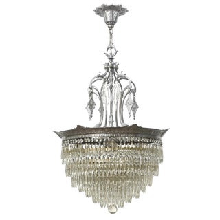American Tiered Crystal Fixture