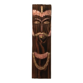Vintage Wood Wall Panel Face