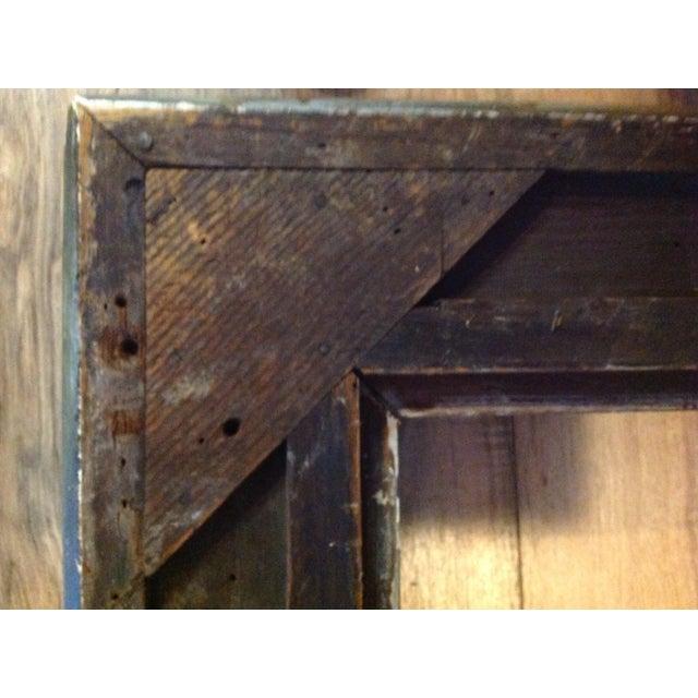 Antique Wood Hollywood Regency Large Frame Victorian - Image 7 of 11