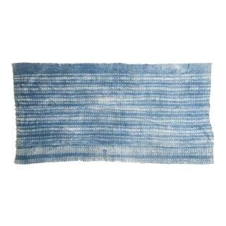 Batik Indigo African Textile Throw