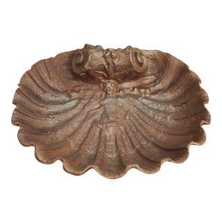 Iron Scallop Shell Basin