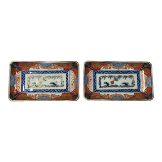 Pair of Fine Imari Porcelain Bowls/ Trays