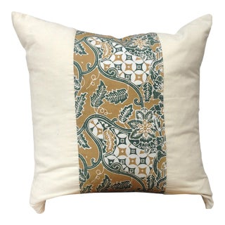 Naturally Dyed Batik & Tenun Pillow Cover