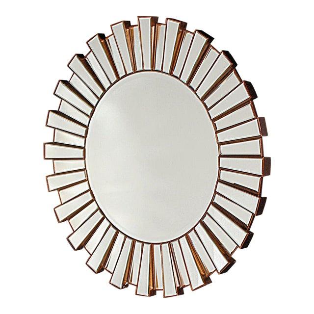 Hollywood Regency-Style Sunburst Mirror - Image 1 of 3