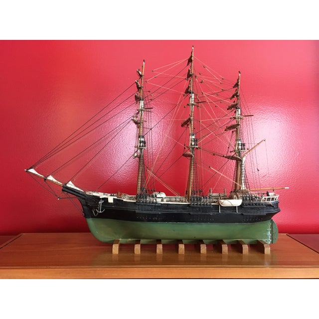1940s Mid-Century Ship Model - Image 2 of 8