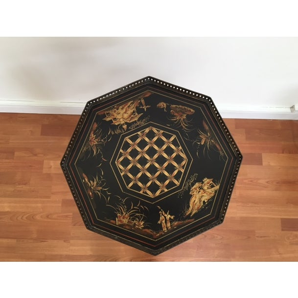 Image of Vintage Chinoiserie Side Table