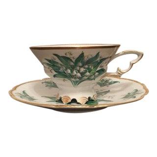Mitterteich Tea Cup and Saucer