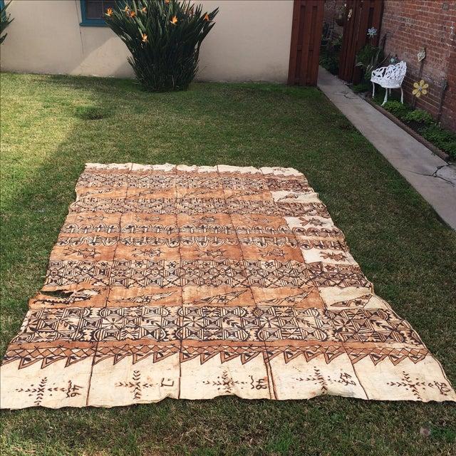 Tapa Cloth Wall Hanging - Image 2 of 10
