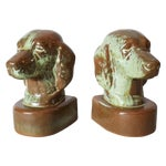 Image of Frankoma Dog Bookends - Pair