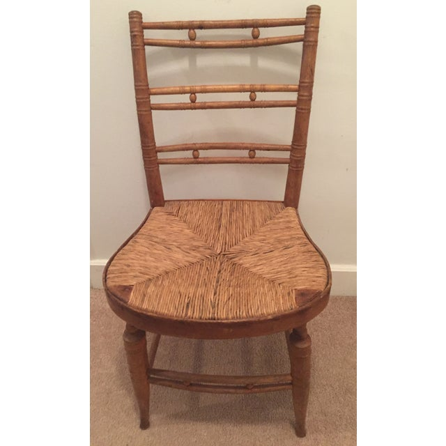 French Country Ladderback Chair - Image 2 of 7