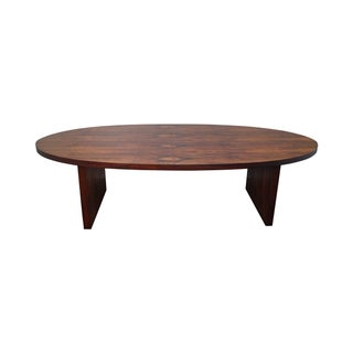 Danish Modern Large Rosewood Conference Table