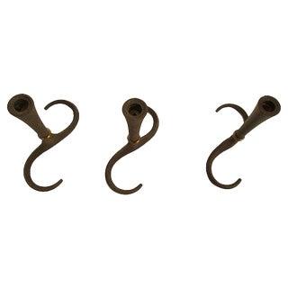 Mid-Century Danish Jens Quistgaard Iron Candleholders - Set of 3
