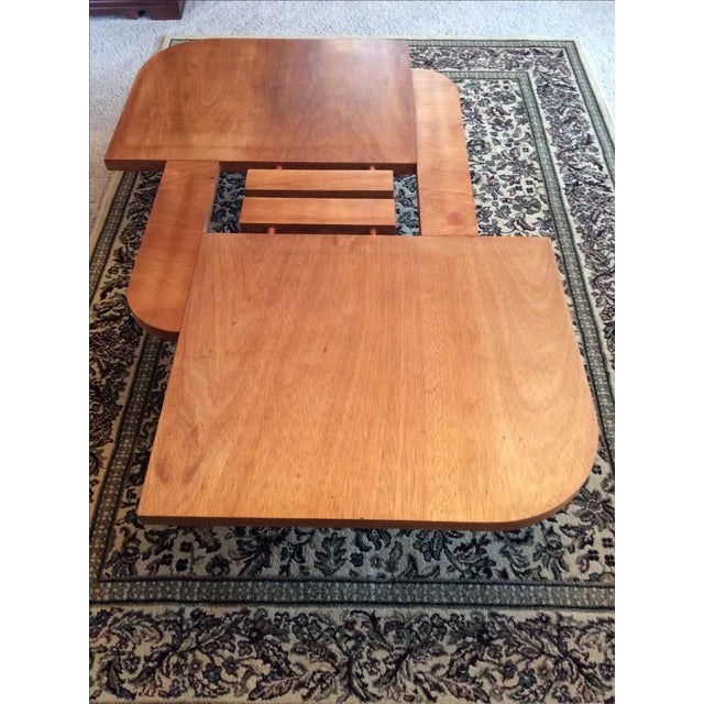 Vintage Danish Modern Low Coffee Table - Image 2 of 11