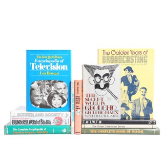 The Golden Years of Television Books - Set of 11