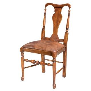 Sarreid LTD Splat Back Walnut Side Chair
