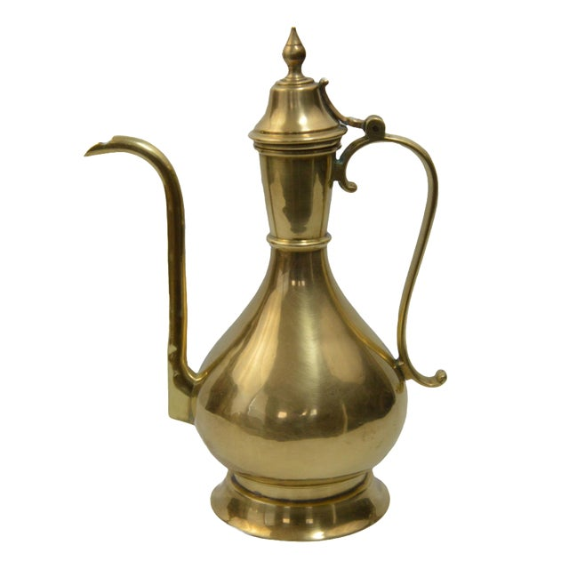 Image of Bohemian Turkish Brass Kettle