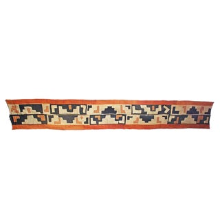 Handmade Kuba Cloth Panel