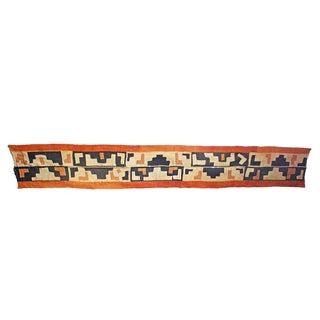 Handmade Kuba Cloth Panel