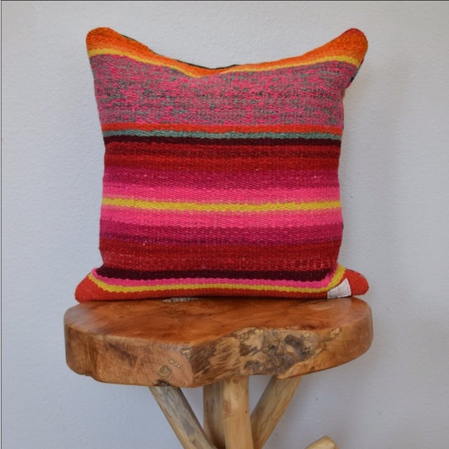 Decorative Peruvian Pillow - Image 3 of 4